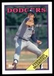 1988 Topps #780  Fernando Valenzuela  Front Thumbnail