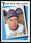 1989 Topps #664   -  Gil Hodges Turn Back The Clock Front Thumbnail