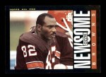 1985 Topps #232  Ozzie Newsome  Front Thumbnail