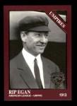 1994 Conlon Burgundy #1185   -  Jack Egan Umpires Front Thumbnail