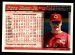 1998 Topps #240  Pete Rose Jr.  Back Thumbnail