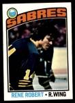 1976 Topps #42  Rene Robert  Front Thumbnail