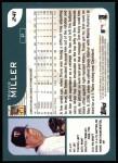 2001 Topps #241  Travis Miller  Back Thumbnail