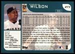 2001 Topps #273  Enrique Wilson  Back Thumbnail