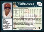 2001 Topps #519  Osvaldo Fernandez  Back Thumbnail