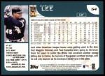 2001 Topps #64  Carlos Lee  Back Thumbnail