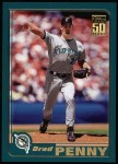 2001 Topps #173  Brad Penny  Front Thumbnail
