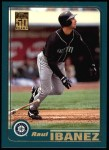 2001 Topps #219  Raul Ibanez  Front Thumbnail