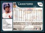 2001 Topps #588  Ray Lankford  Back Thumbnail