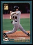 2001 Topps #628  Doug Mirabelli  Front Thumbnail