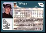 2001 Topps #629  Jason Tyner  Back Thumbnail