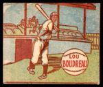 1949 M.P. and Co #100  Lou Boudreau  Front Thumbnail