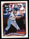 1989 Topps #480  Keith Hernandez  Front Thumbnail