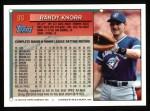 1994 Topps #96  Randy Knorr  Back Thumbnail