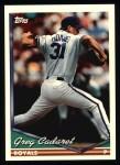 1994 Topps #303  Greg Cadaret  Front Thumbnail