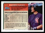 1994 Topps #322  Chris Turner  Back Thumbnail