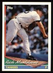 1994 Topps #326  Rich Monteleone  Front Thumbnail