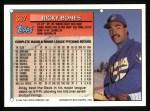 1994 Topps #367  Ricky Bones  Back Thumbnail