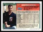 1994 Topps #507  Dave Staton  Back Thumbnail