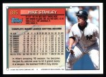 1994 Topps #695  Mike Stanley  Back Thumbnail
