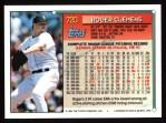 1994 Topps #720  Roger Clemens  Back Thumbnail