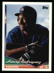1994 Topps #727  Henry Rodriguez  Front Thumbnail