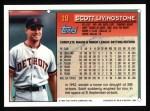 1994 Topps #19  Scott Livingstone  Back Thumbnail