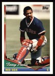 1994 Topps #85  Tony Pena  Front Thumbnail