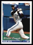 1994 Topps #124  Willie Canate  Front Thumbnail