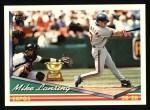 1994 Topps #287  Mike Lansing  Front Thumbnail