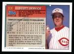 1994 Topps #306  Scott Service  Back Thumbnail