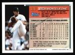 1994 Topps #326  Rich Monteleone  Back Thumbnail