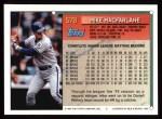 1994 Topps #578  Mike Macfarlane  Back Thumbnail