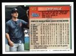 1994 Topps #583  Chip Hale  Back Thumbnail