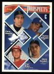 1994 Topps #686   -  Carlos Delgado  /  Jason Kendall Prospects - Catchers Front Thumbnail