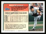 1994 Topps #691  Joe Grahe  Back Thumbnail
