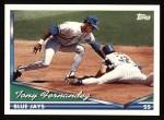 1994 Topps #702  Tony Fernandez  Front Thumbnail
