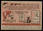 1958 Topps #250  Roy Sievers  Back Thumbnail