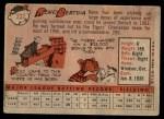 1958 Topps #232  Reno Bertoia  Back Thumbnail