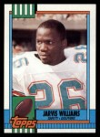 1990 Topps #326  Jarvis Williams  Front Thumbnail