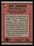 1990 Topps #40  Jim Juriga  Back Thumbnail