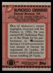 1990 Topps #46  Alphonso Carreker  Back Thumbnail