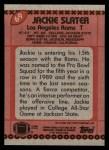 1990 Topps #69  Jackie Slater  Back Thumbnail