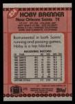 1990 Topps #234  Hoby Brenner  Back Thumbnail