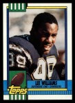 1990 Topps #389  Lee Williams  Front Thumbnail