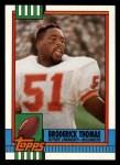 1990 Topps #403  Broderick Thomas  Front Thumbnail