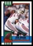 1990 Topps #418  Steve Grogan  Front Thumbnail