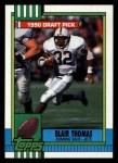 1990 Topps #448  Blair Thomas  Front Thumbnail