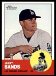 2012 Topps Heritage #310  Jerry Sands  Front Thumbnail