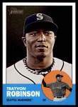 2012 Topps Heritage #367  Trayvon Robinson  Front Thumbnail